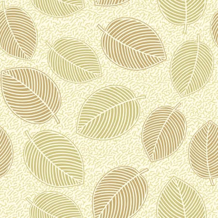 Seamless - Leaves background Stock Vector - 17346101