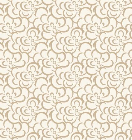 mustered: Floral background for wedding card Illustration