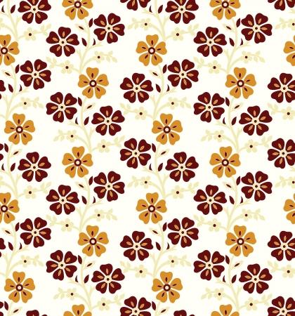 Seamless - Flourish background Stock Vector - 17420277