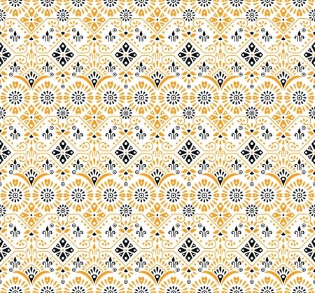 Seamless-Paisley background-wallpaper Stock Vector - 17473491