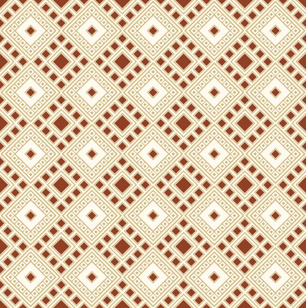 Seamless golden geometrical wallpaper Vector