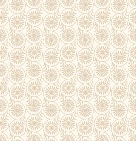 mustered: Seamless-Floral fondo de la boda tarjeta Vectores