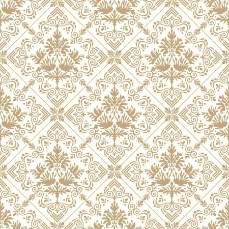 papel tapiz: Seamless wallpaper real de oro