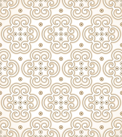 mustered: Seamless golden royal wallpaper