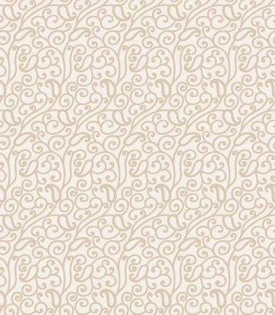 mustered: Paisley seamless background Illustration