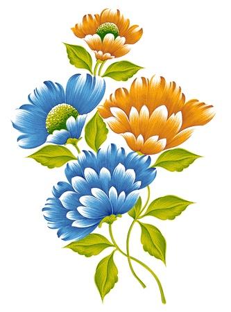 bunch: Flower bunch Stock Photo