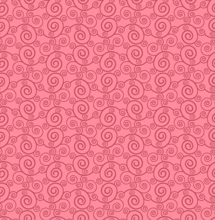 Seamless swirly background Vector