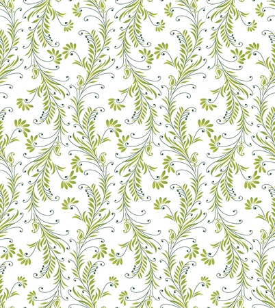 Seamless background for textile fabrics Vector