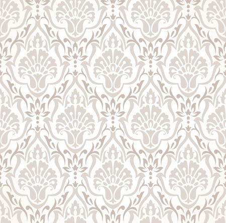 traditional silver wallpaper: Seamless traditional wallpaper