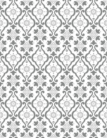 rich wallpaper: Seamless silver wallpaper