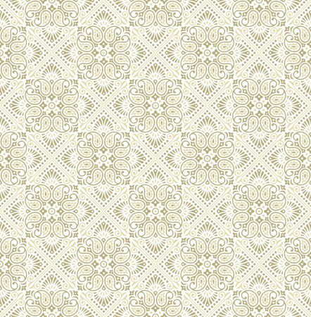 rich wallpaper: Seamless paisley golden Wallpaper-Background