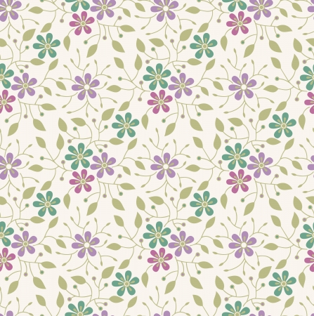 mustered: Seamless flower background,pattern