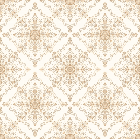 Seamless ornamental wallpaper Stock Vector - 17977602