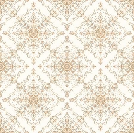 mustered: Seamless ornamental wallpaper