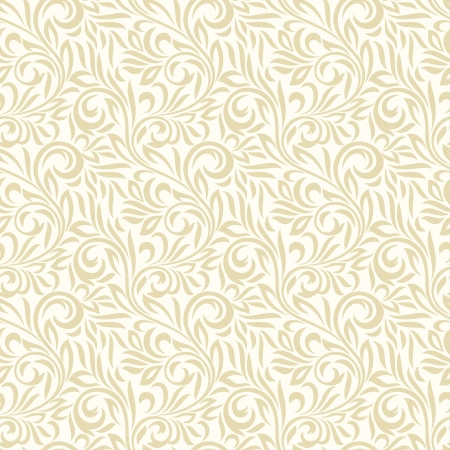 Seamless leaves background and pattern