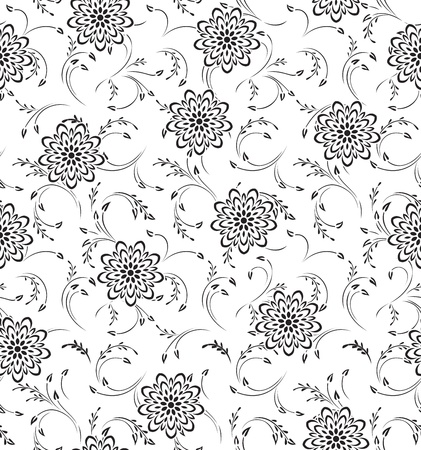 rich wallpaper: Seamless Floral-Background