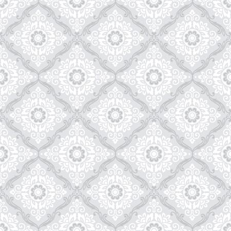 Seamless damask wallpaper Stock Vector - 18067430