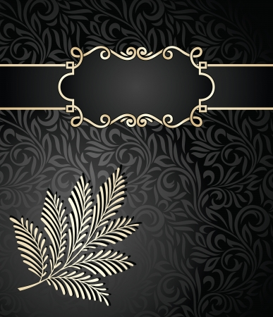 rich black wallpaper: Rich note book cover Illustration