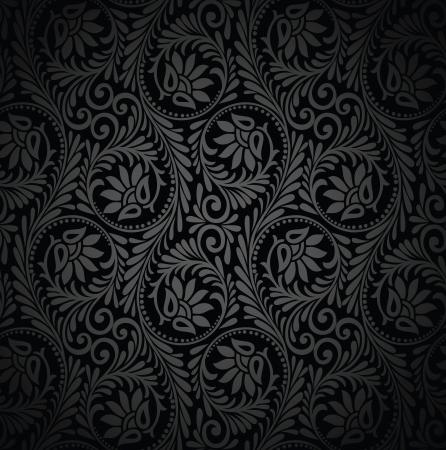 Seamless luxurious wallpaper Vettoriali