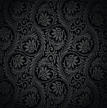 luxurious: Seamless luxurious wallpaper Illustration