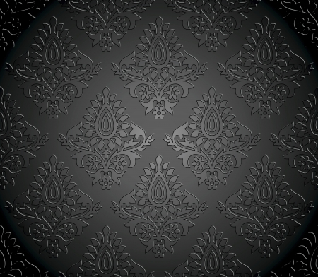 Luxurious seamless wallpaper Vector