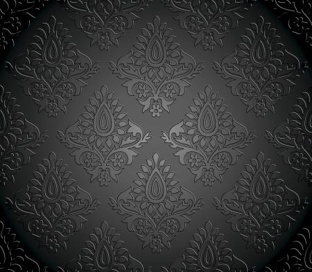 Seamless wallpaper lujo Foto de archivo - 18246169