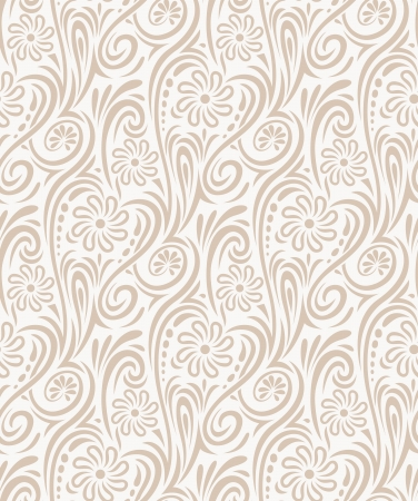 Seamless floral background-wallpaper