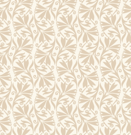 mustered: Traditional wedding card background Illustration