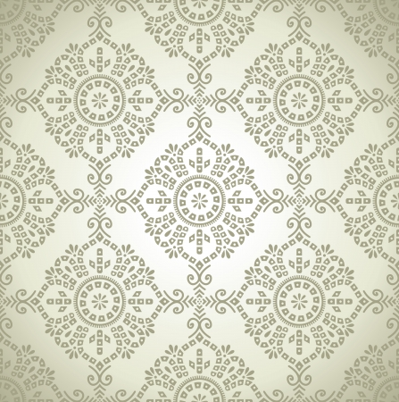 table cloth: Seamless traditional wallpaper