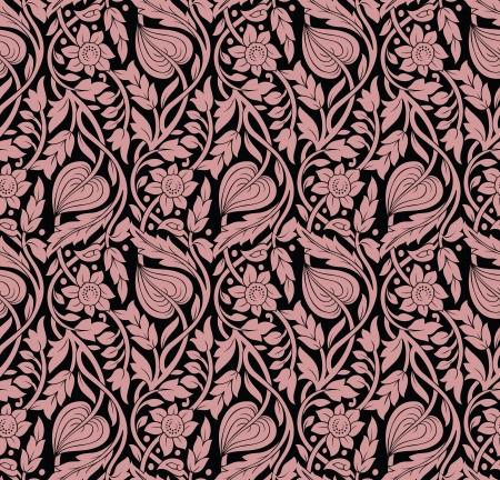 rich wallpaper: Floral wallpaper