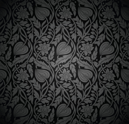 traditional silver wallpaper: Seamless royal wallpaper-background