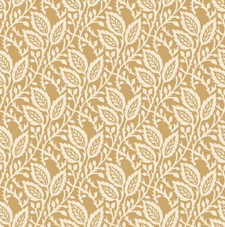 Seamless golden invitation card background Vector