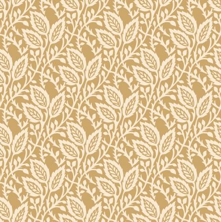 Seamless golden invitation card background
