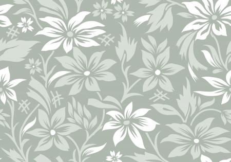 Seamless flower wallpaper Vector