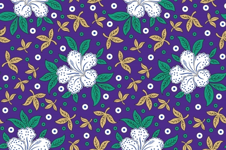 Seamless floral background for fabrics and cloths Vector