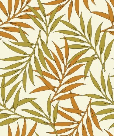 Hojas Seamless pattern background- Foto de archivo - 18623914