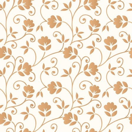 Floral seamless invitation card background Vettoriali