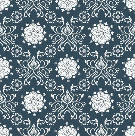 Royal seamless wallpaper design Vector