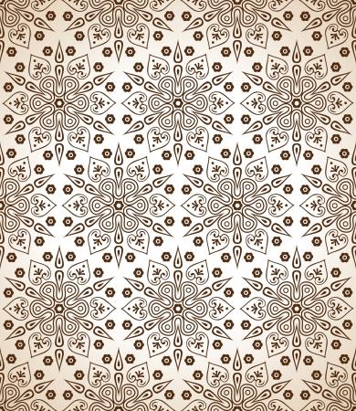 mustered: Royal brown seamless wallpaper