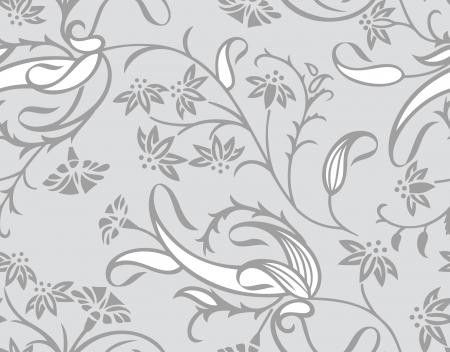 Seamless traditional designer wallpaper Stock Vector - 18933696