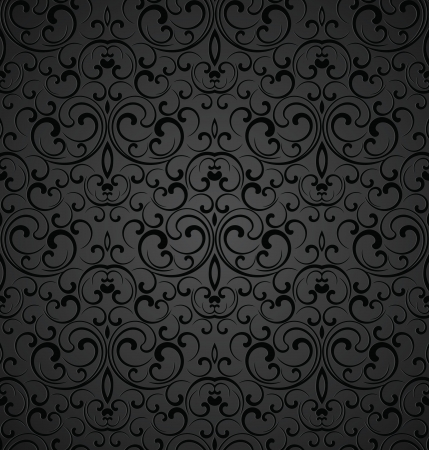 Seamless royal decorative wallpaper Vector