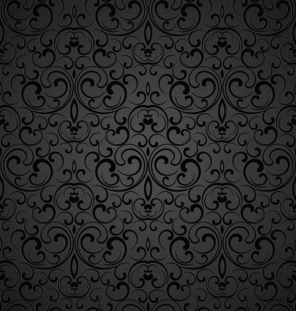 Seamless royal decorative wallpaper Illustration