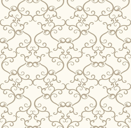 Seamless royal designer wallpaper Vector