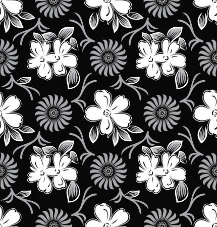 Royal seamless flower wallpaper Stock Vector - 19052709