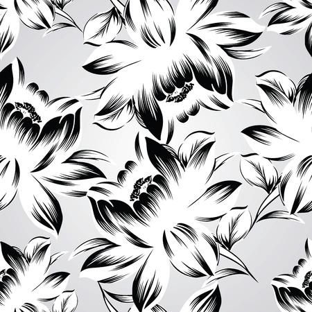 Papel tapiz de flores de fantasía Foto de archivo - 19098289