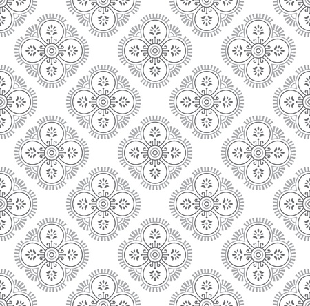 Traditional vector seamless wallpaper Vector