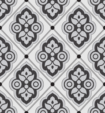 Seamless luxurious designer wallpaper Vector