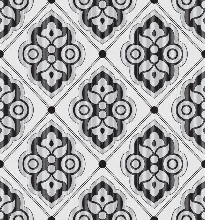 Seamless luxurious designer wallpaper Stock Vector - 19147361
