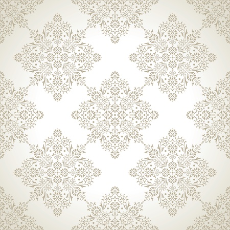 luxurious seamless wallpaper: Traditional luxurious seamless wallpaper Illustration