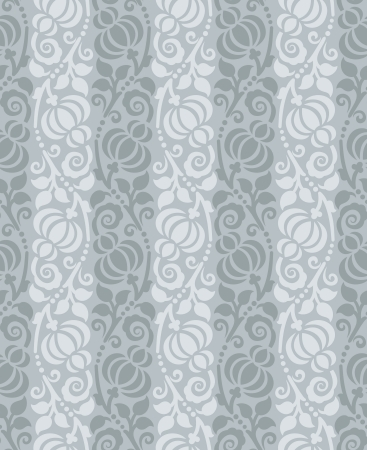 Seamless flourish wallpaper Vector